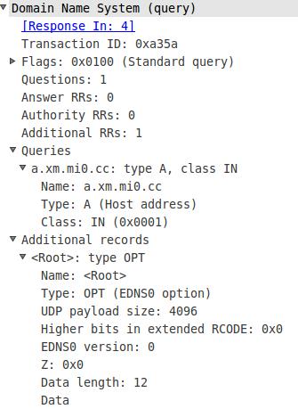 DNS support edns-client-subnet - 第3张  | 大话运维